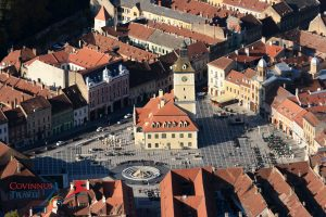 The Old Town Square - Brasov, Transylvania