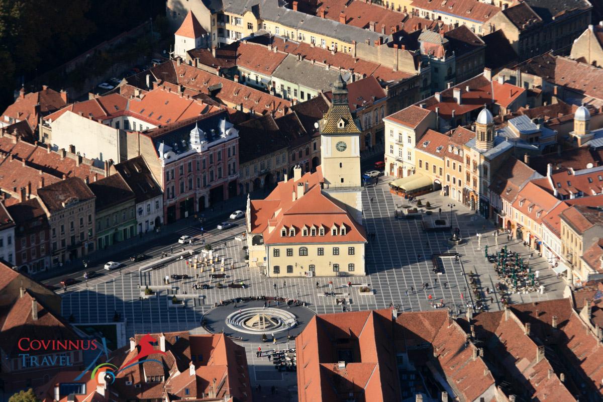 The Old Town Square - Brasov, Transylvania