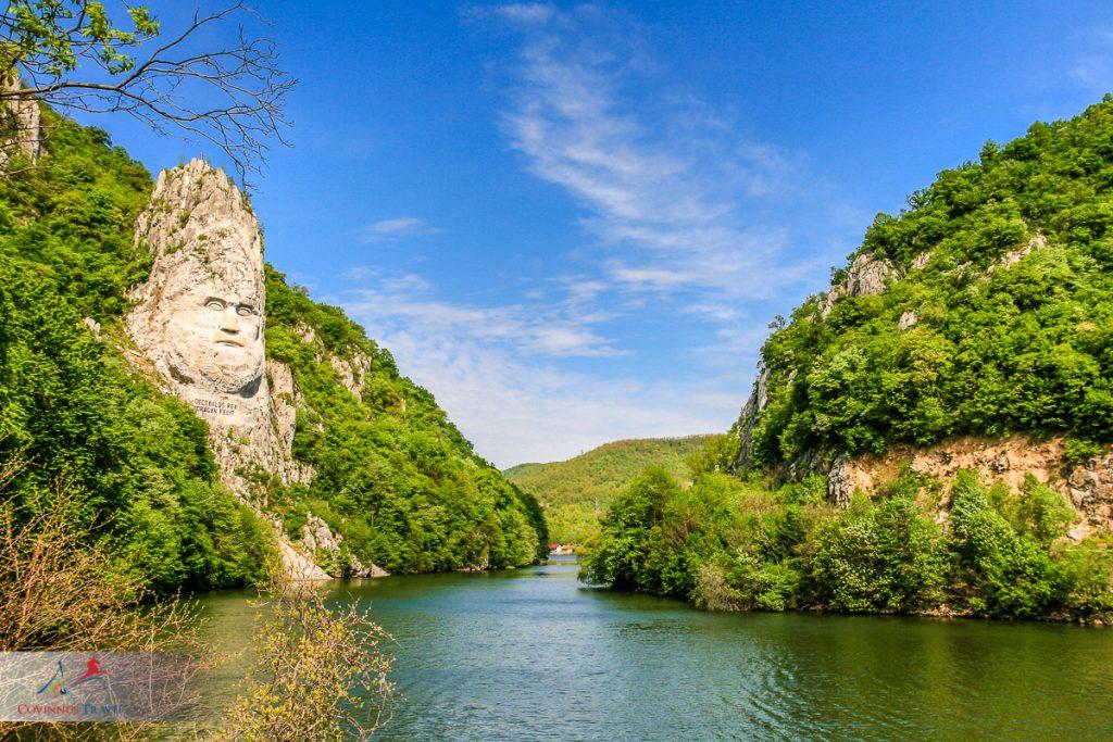 King Decebalus, The Iron Gates, Romania