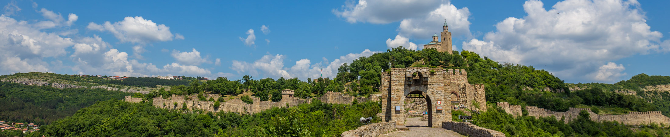Velik Tarnovo, Tsarevets Fortress, Bulgaria