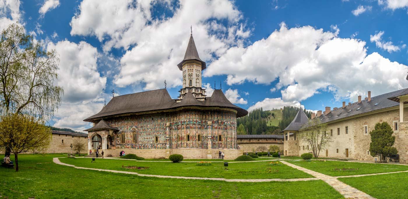 Sucevita Monastery, Bucovina, Romania