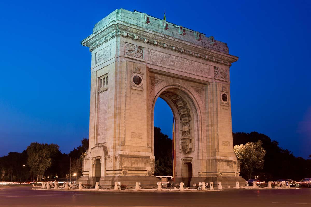 Arch of Triumph, Bucharest