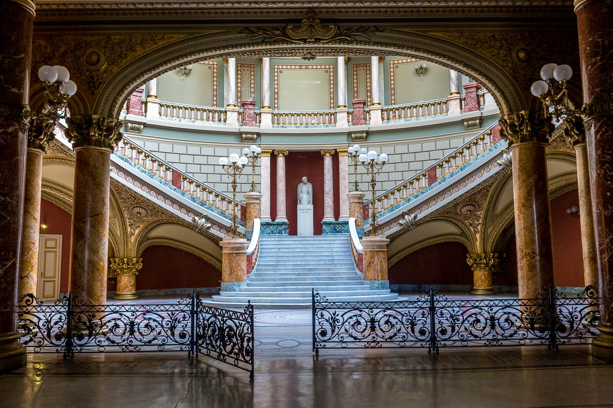 The Romanian Athenaeum, Bucharest