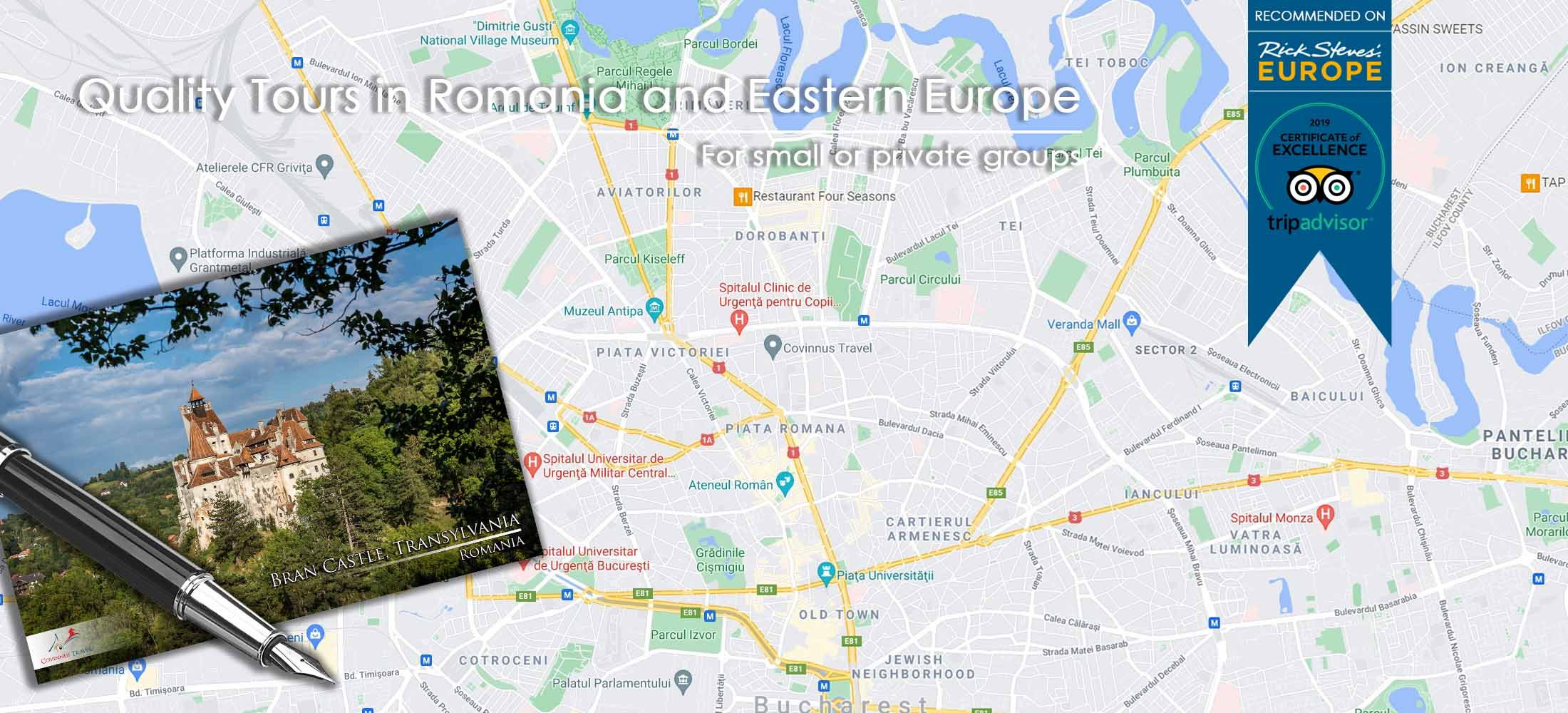 Contact Page - Covinnus Travel